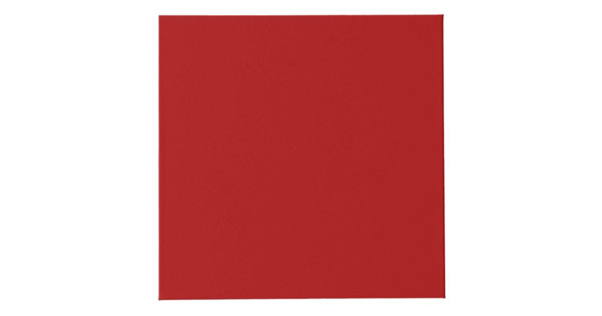 burnt red solid color cube zazzle. Black Bedroom Furniture Sets. Home Design Ideas