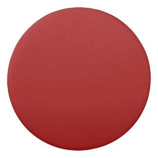 Burnt Red Solid Color Eraser