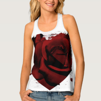 Burnt Rose Tank