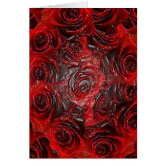Burnt Rose Theme 3D Card