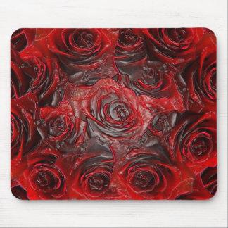 Burnt Rose Theme 3D Mouse Pad
