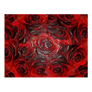 Burnt Rose Theme 3D Postcard