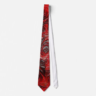 Burnt Rose Theme 3D Tie