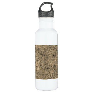 Burnt Sand Tiling Texture 24oz Water Bottle