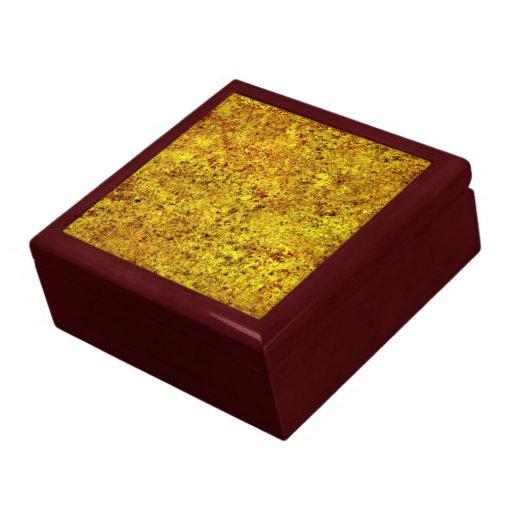 Burnt Sand Tiling Texture Keepsake Boxes