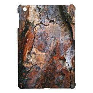 BURNT SEQUOIA TREE BARK DETAIL iPad MINI CASES
