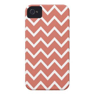 Burnt Sienna Chevron Iphone 4S Case