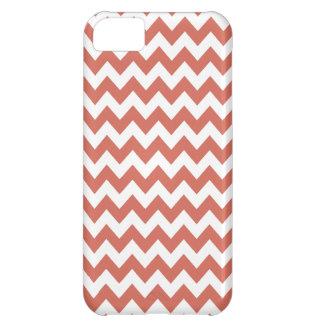 Burnt Sienna Chevron Iphone 5 Case