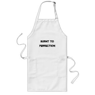 BURNT TO PERFECTION LONG APRON