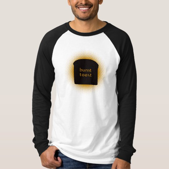 Burnt Toast Basic Long Sleeve Raglan T-Shirt