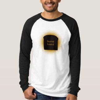 Burnt Toast Basic Long Sleeve Raglan Tee Shirt