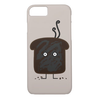 Burnt Toast smoke crumbs ashes bread iPhone 8/7 Case