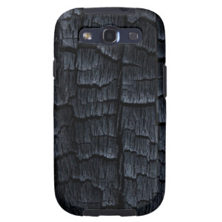 Burnt Wood Faux Texture Galaxy SIII Case