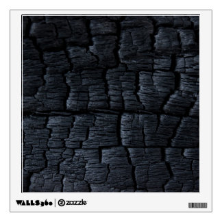 Burnt Wood Texture Wall Sticker