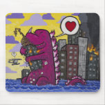 Burntroxodon's first date mousepad