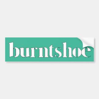 Burntshoe Bumper Sticker