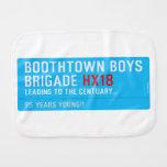 boothtown boys  brigade  Burp Cloth