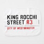 king Rocchi Street  Burp Cloth