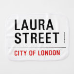 Laura Street  Burp Cloth