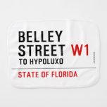 Belley Street  Burp Cloth