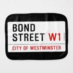 Bond Street  Burp Cloth
