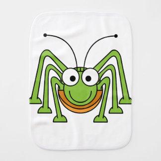Burp Cloth - Grasshopper