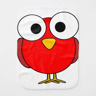 Burp Cloth - Red Bird