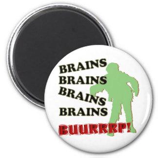 ¡Burp de los cerebros de los cerebros de los cereb Imán