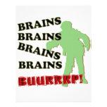 ¡Burp de los cerebros de los cerebros de los cereb Plantillas De Membrete
