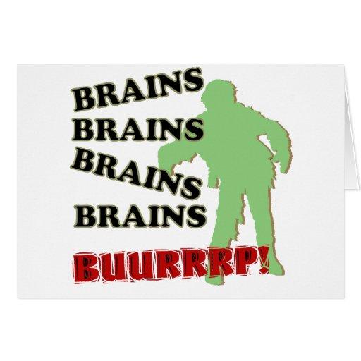 ¡Burp de los cerebros de los cerebros de los cereb Felicitacion