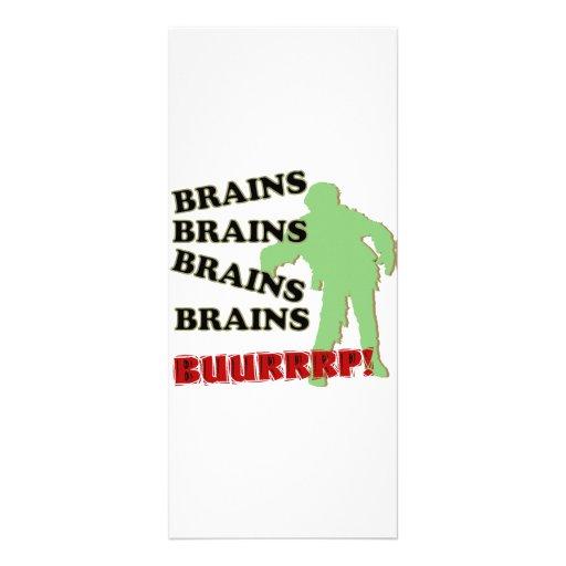 ¡Burp de los cerebros de los cerebros de los cereb Tarjeta Publicitaria