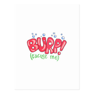 Burp!(Excuse Me) Postcards