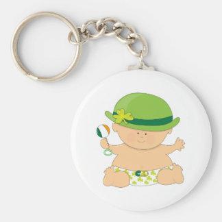 Burp Me...I'm Irish Basic Round Button Keychain