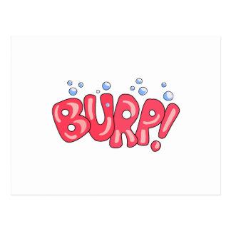 Burp! Post Card