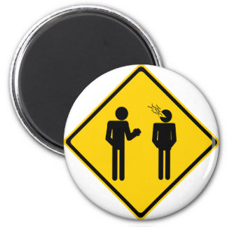 Burp Road Sign Magnet