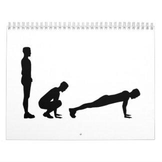 Burpees Calendar