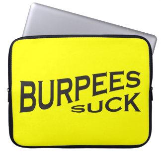 Burpees chupa - la inspiración divertida funda ordendadores