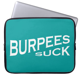 Burpees chupa - la inspiración divertida fundas portátiles