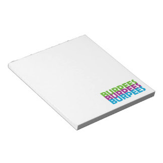 Burpees Notepad