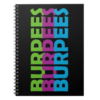 Burpees Spiral Notebook