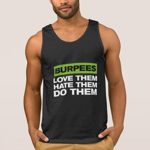 Burpees Tank Tops Tank Tops, Tanktops Shirts