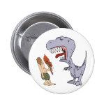 Burping Dinosaur 2 Inch Round Button