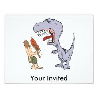 Burping Dinosaur Card