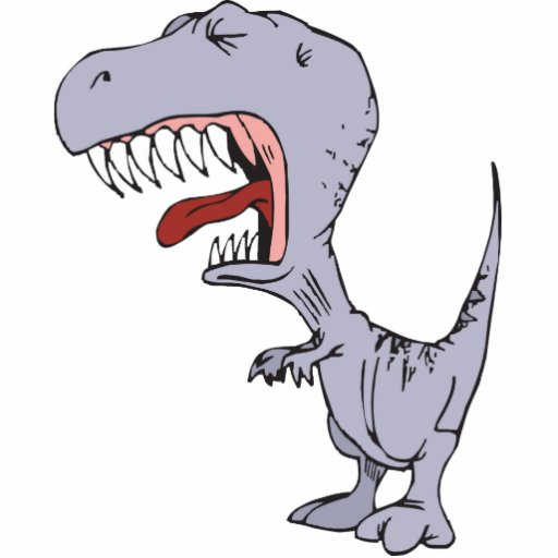 Burping Dinosaur Photo Cutouts