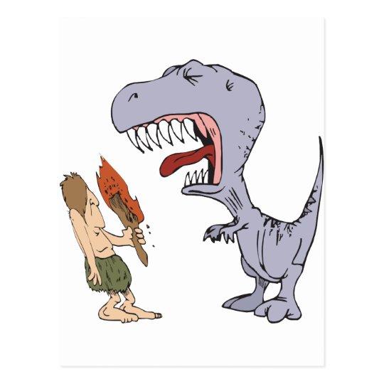 Burping Dinosaur Postcard