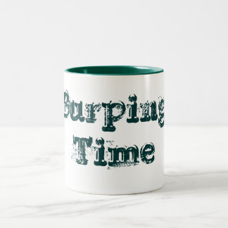 Burping Time, Designs By Che Dean Coffee Mug