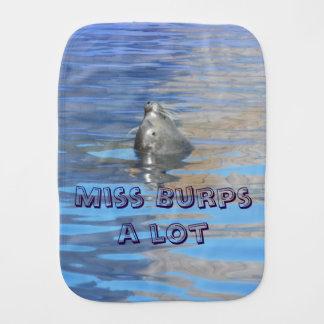 Burps-uno-porción de la Srta. Paños De Bebé