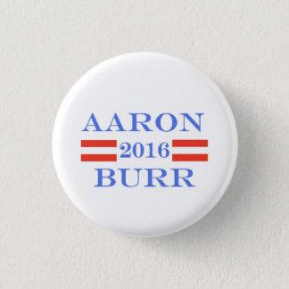 Burr 2016 pinback button