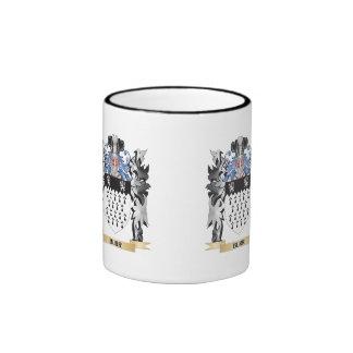 Burr Coat of Arms - Family Crest Ringer Mug