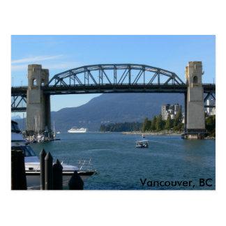 Burrard Bridge - Vancouver, BC Postcards